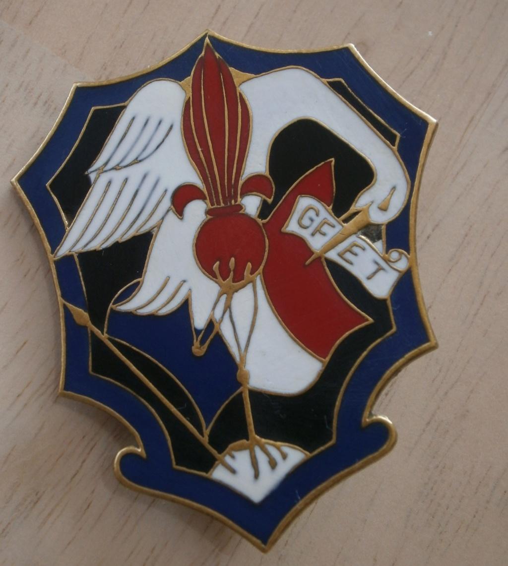 insigne GFET, la gendarmerie en Indochine P3260010