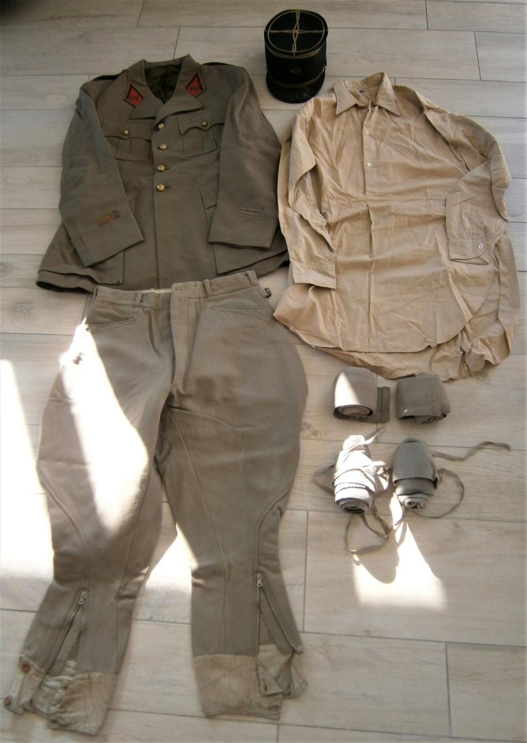 uniforme lieutenant 403 régiment d'artillerie  ww2 ? P7050010