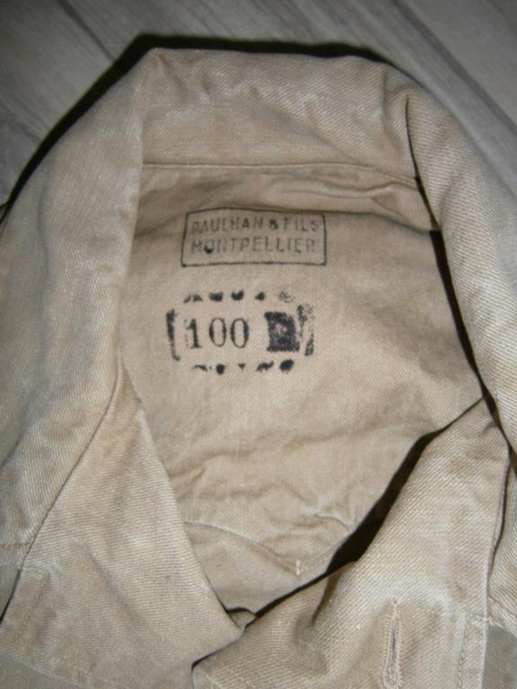 identification veste française type saharienne Pb090012