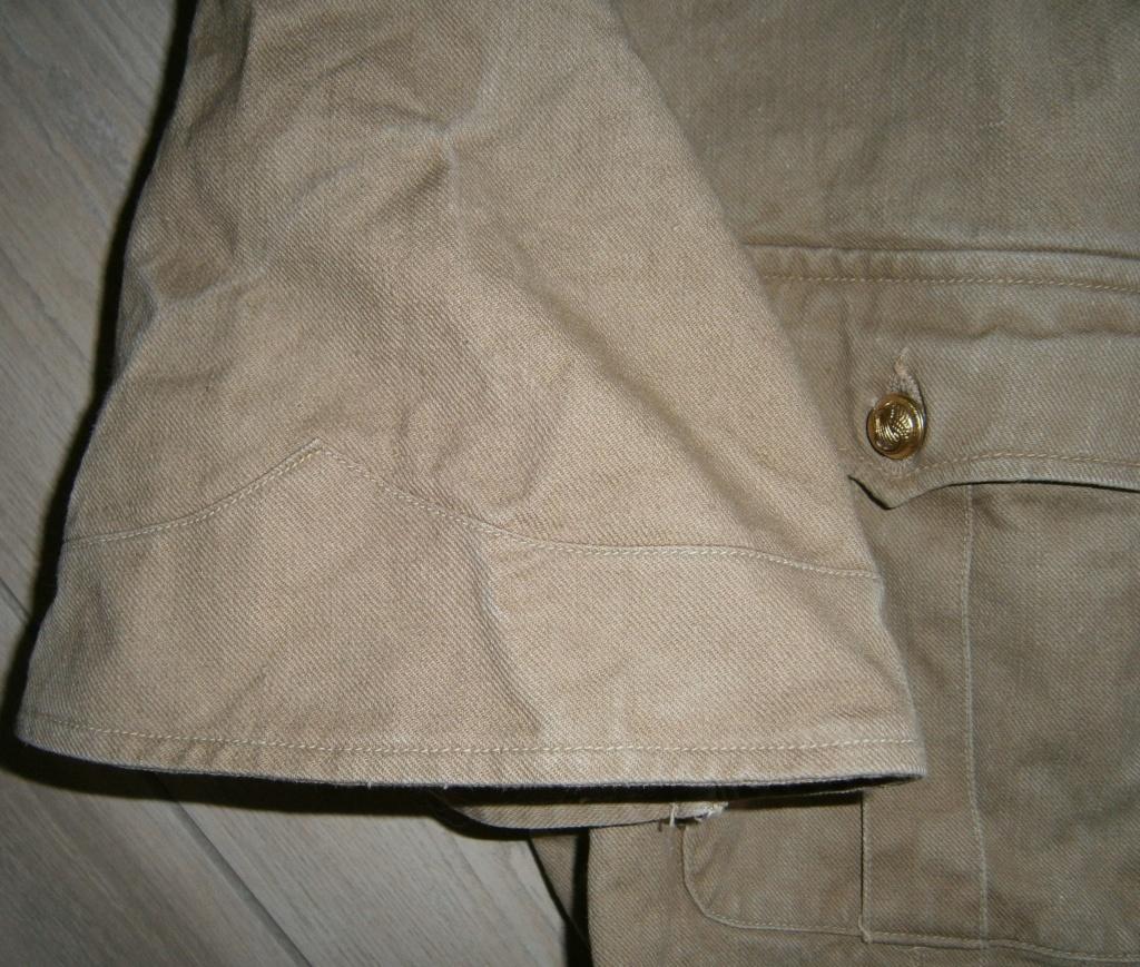 identification veste française type saharienne Pb090014