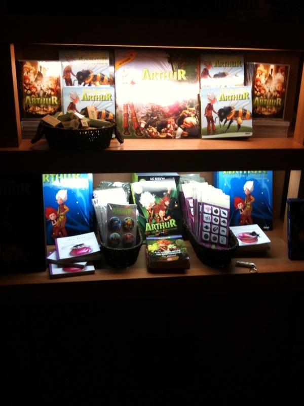 Merchandising d'Arthur et les Minimoys Photo_11
