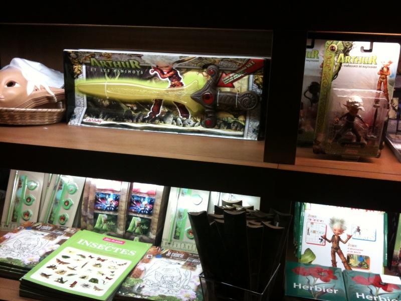 Merchandising d'Arthur et les Minimoys Photo_12