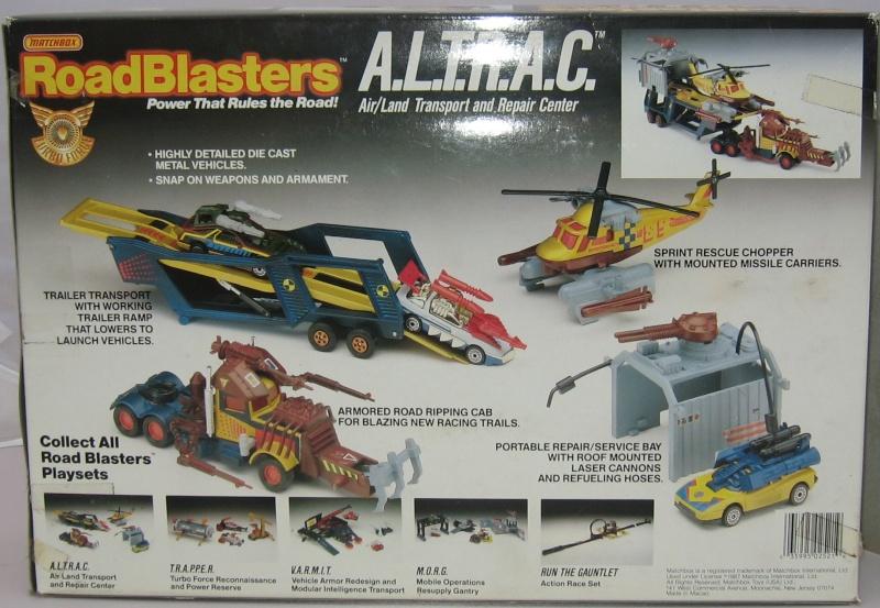 ROAD BLASTERS (Matchbox) 1988 Altrac11