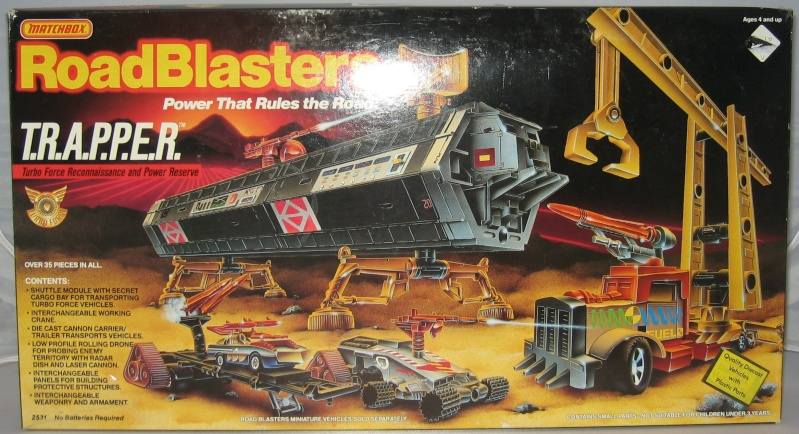ROAD BLASTERS (Matchbox) 1988 Trappe10