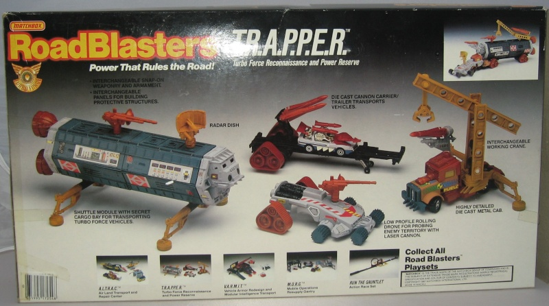 ROAD BLASTERS (Matchbox) 1988 Trappe11