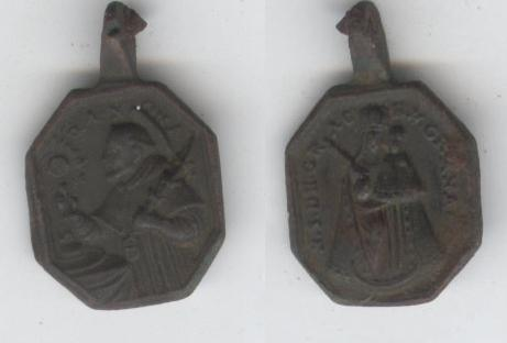 San Ramon Nonato / V. de Gracia en Granada - s. XVII Medall10