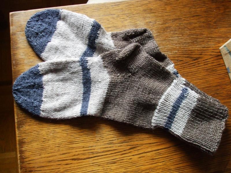 Chaussettes bien chaudes, tricotées main et autres 00410