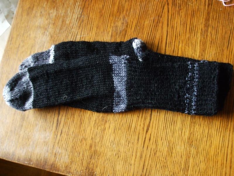Chaussettes bien chaudes, tricotées main et autres 01110