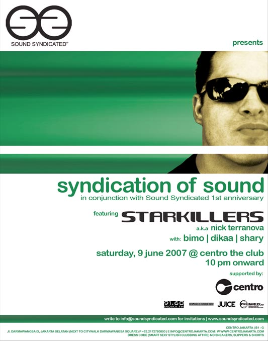 SOUNDSYNDICATED 1st Anniversary feat: STARKILLERS-09 June 07 Starki10