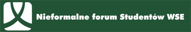 Jeszcze bardziej nieformalne forum WSE