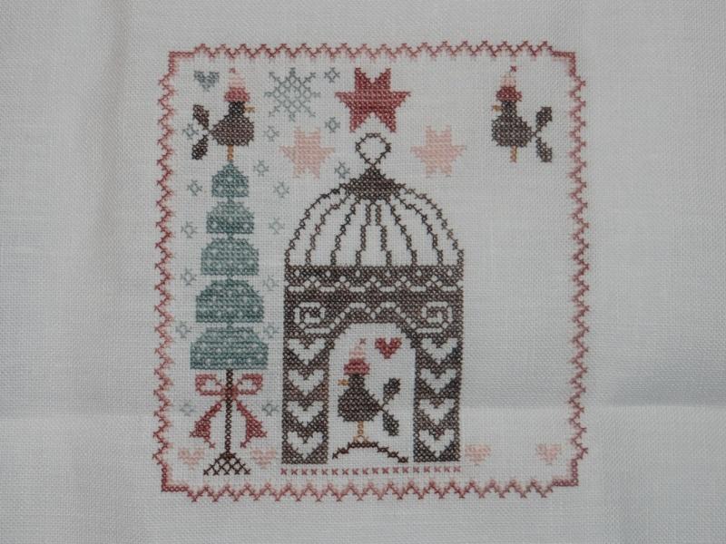 SAL Sauvage Tralala c'est l'hiver... pour les givrées. :) - Page 2 Dsc01815