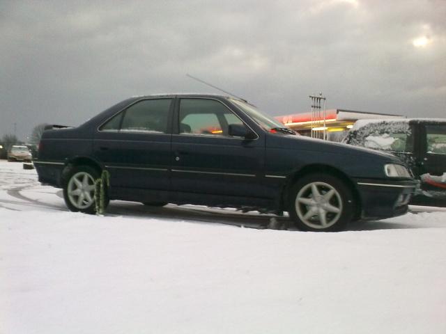 Les 405 sous la neige !! 18122010