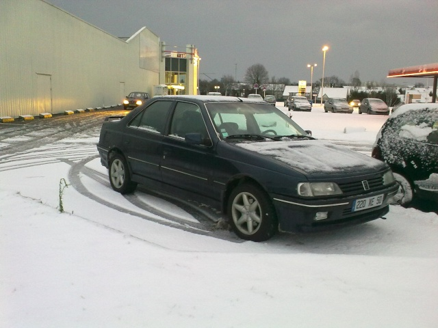 Les 405 sous la neige !! 18122011