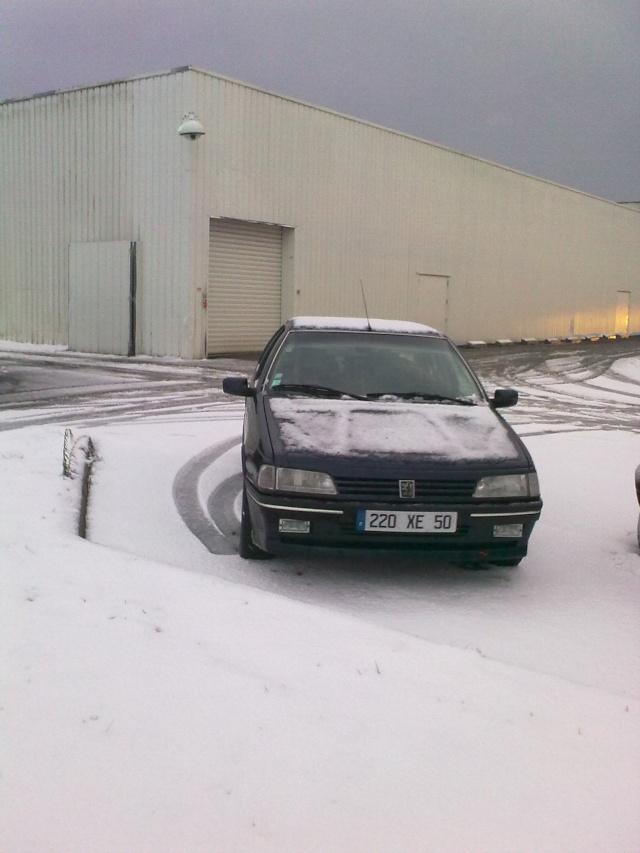 Les 405 sous la neige !! 18122012