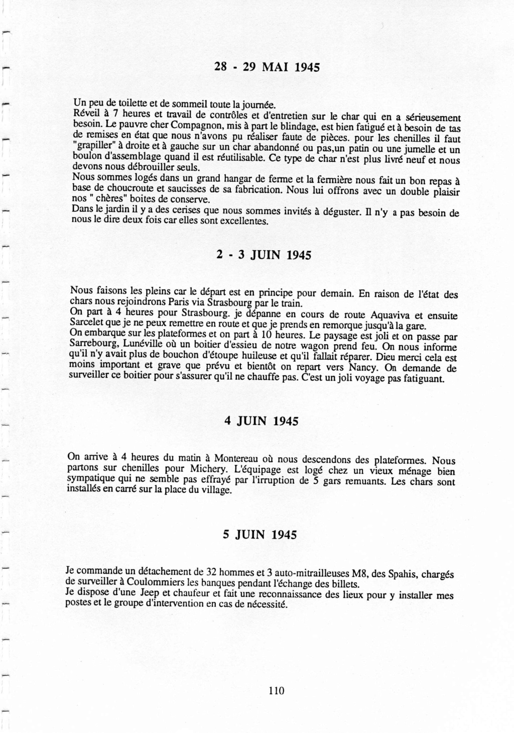 précisions sur un sherman Crosni11