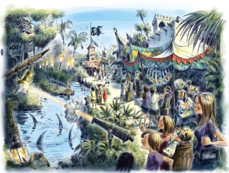 "[Magic Kingdom] ""A Pirate's Adventure: Treasures of the Seven Seas"", nouveau jeu interactif Poc-ar10"