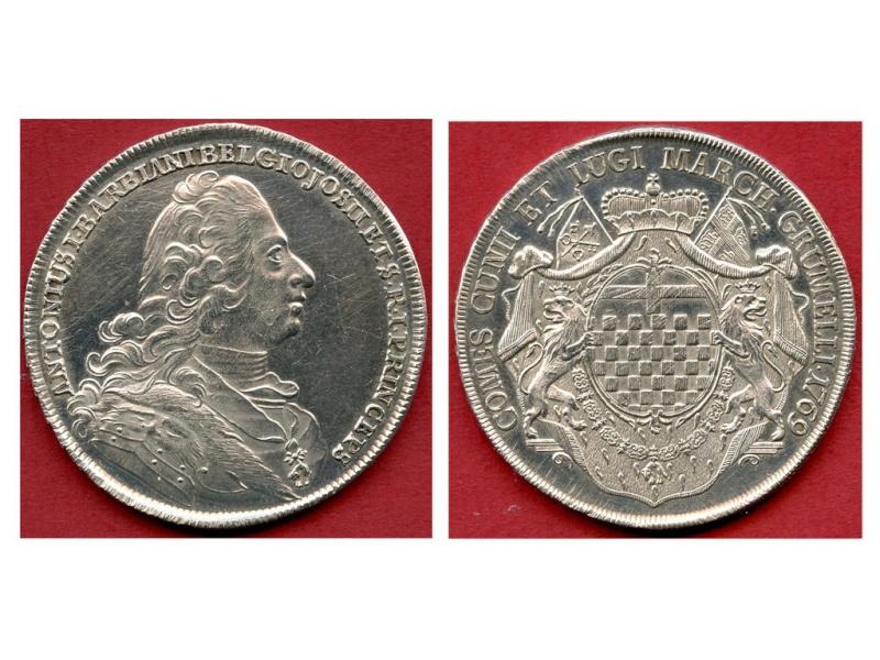 Moneda italiana 1ESCUDO de BELGIOJOSO 1769 Belioj10