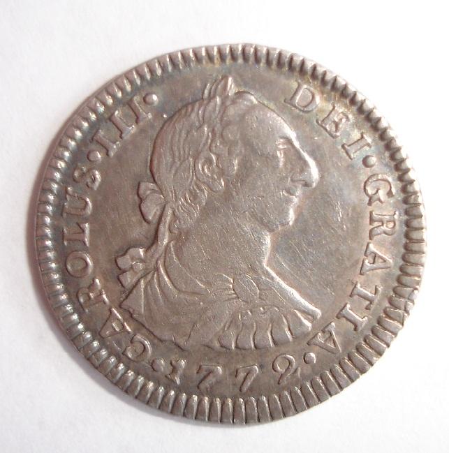1 real 1772. Carlos III. Méjico. (variante FM invertido). Dsc06115