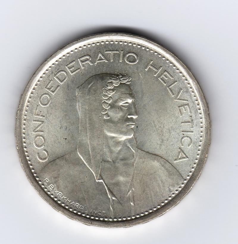 5 francs   Suiza   1967 - 5 Francs. Suiza. 1967. Berna Img43210