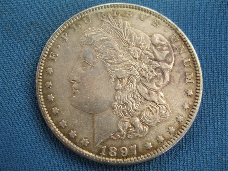 "1 Dollar ""Morgan"". U.S.A. 1897. Philadelphia Img57810"