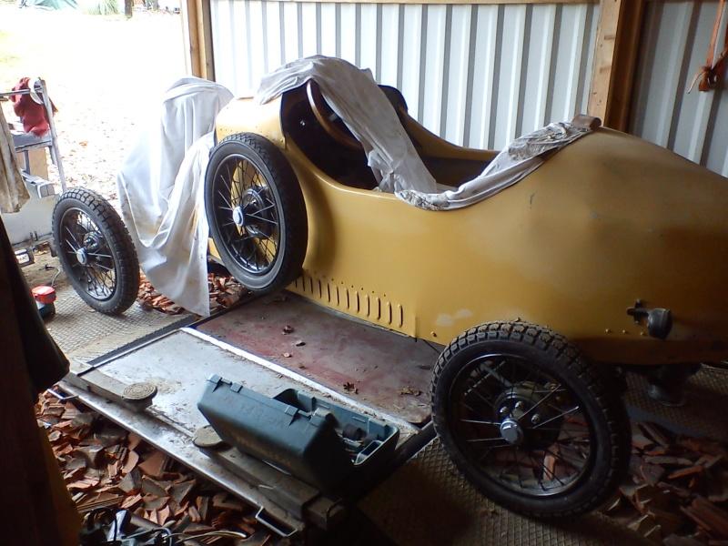 Construction d'un cyclecar Peugeot sur quadrilette 1928 14_12_21