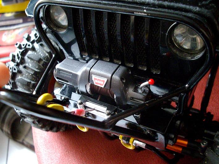 jeep wrangler rallongée dans le 31 Treuil10
