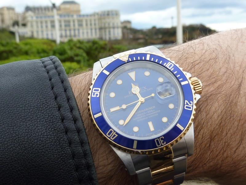 Feu de vos montres à cadran bleu clair P1000010