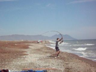 Surfcasting Almería