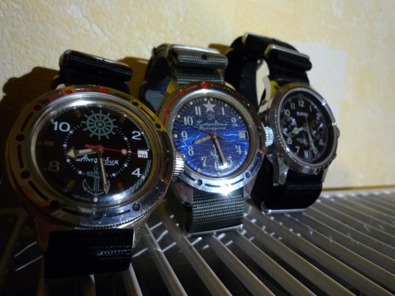 Les montres de plongée militaires, sujet historique. 210