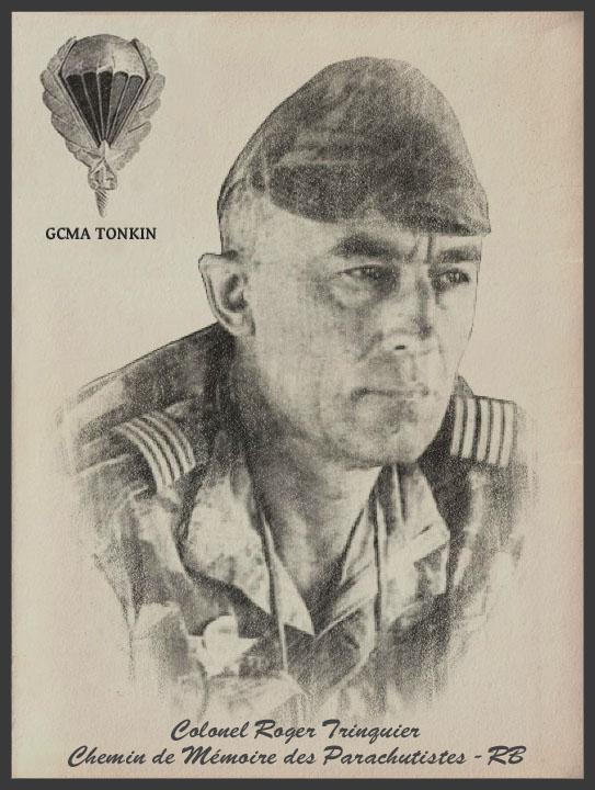 TRINQUIER Roger - Colonel - 1963-1965 1er président Union Nationale des Parachutistes 1_coul10