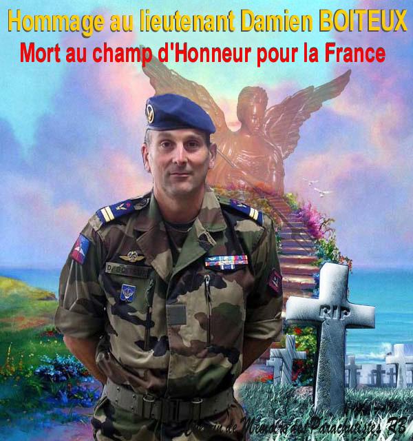 Boiteux Dominique Chef de Bataillon 4ème RHFS Mort au Champ d'Honneur au Mali le 11 janvier 2013 - opération SERVAL 1_db_m11