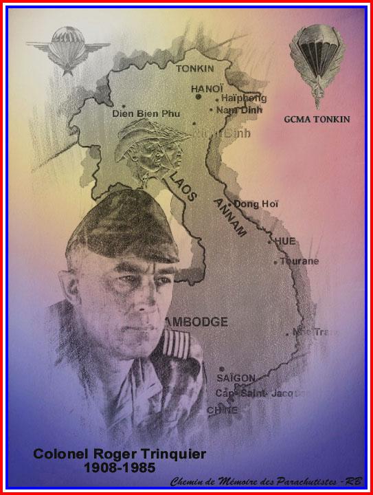 TRINQUIER Roger - Colonel - 1963-1965 1er président Union Nationale des Parachutistes 2_coul10