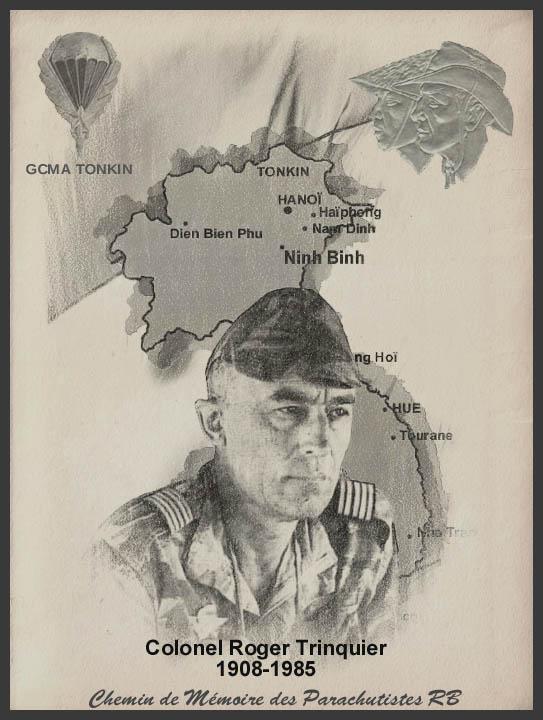 TRINQUIER Roger - Colonel - 1963-1965 1er président Union Nationale des Parachutistes 3_coul10