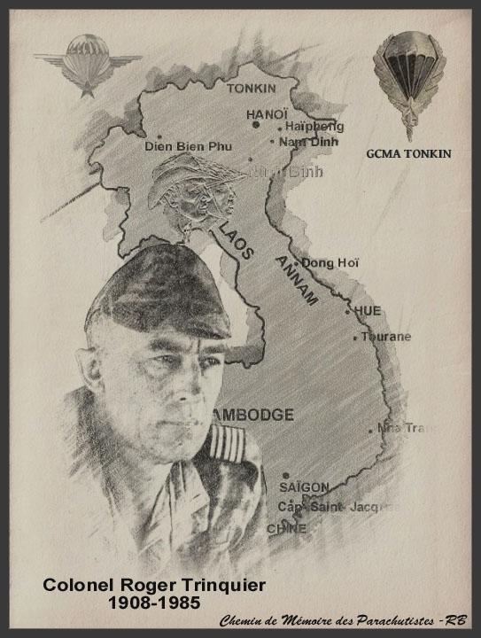TRINQUIER Roger - Colonel - 1963-1965 1er président Union Nationale des Parachutistes 6_coul10