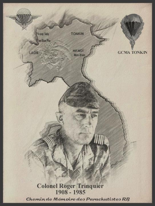 TRINQUIER Roger - Colonel - 1963-1965 1er président Union Nationale des Parachutistes 7_roge10