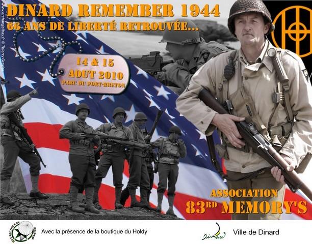 Dinard Remenber 1944 Affich10