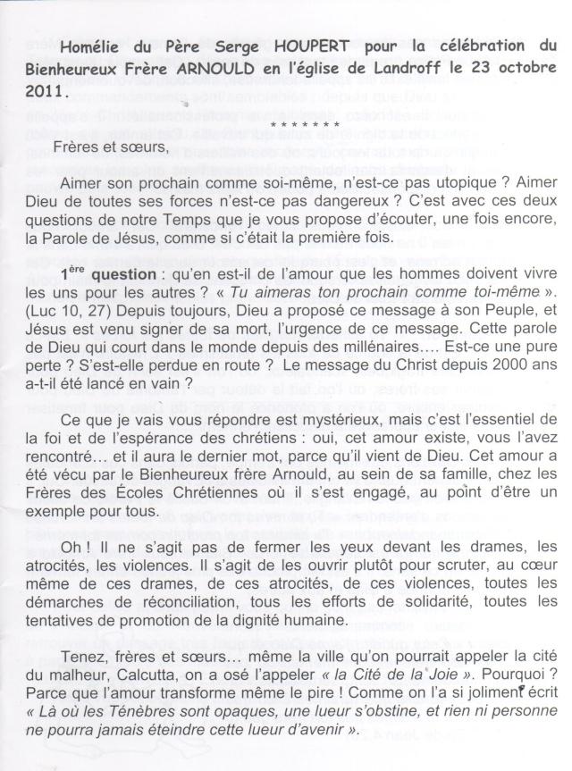 DU BIENHEUREUX FRERE ARNOULD.... A FRERE ANDRE, Saint. - Page 2 Arnoul11