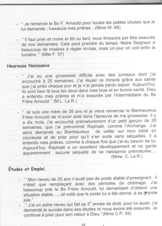 DU BIENHEUREUX FRERE ARNOULD.... A FRERE ANDRE, Saint. - Page 2 Arnoul14