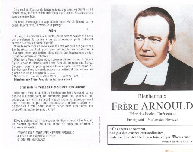 DU BIENHEUREUX FRERE ARNOULD.... A FRERE ANDRE, Saint. - Page 2 Frere_13