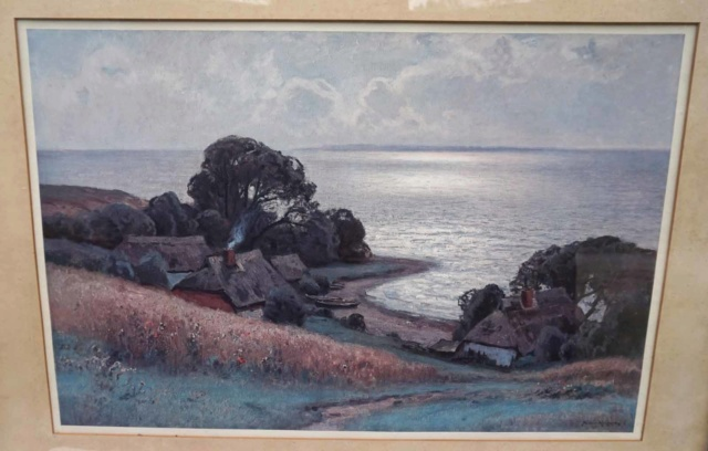Reproduction paysage Ostsee de Müller-Kurzwelly  Irishp10