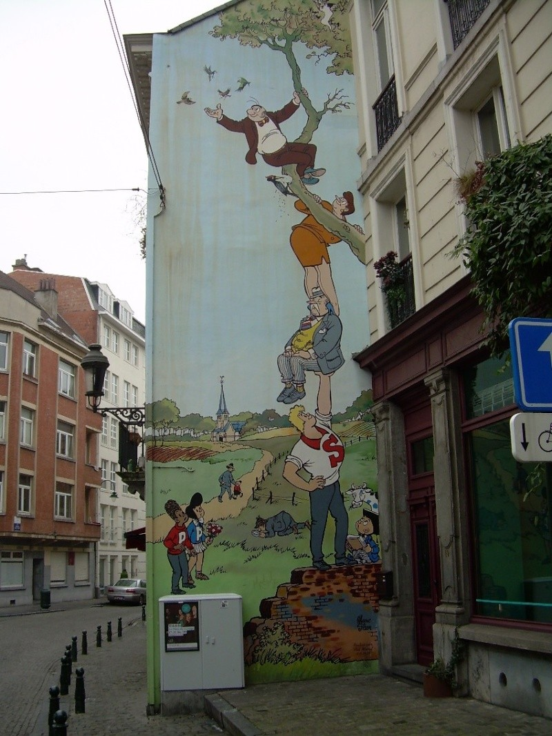 Les parcours BD de Bruxelles, Laeken et Anvers 18947510
