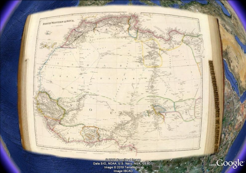 La magie des cartes historiques de Rumsey  Afriqu10