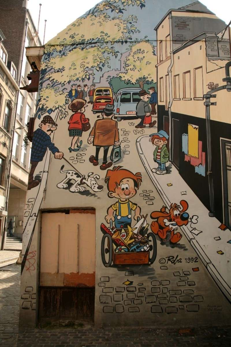 Les parcours BD de Bruxelles, Laeken et Anvers - Page 2 Boule_10