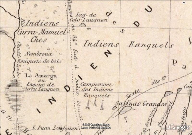 La magie des cartes historiques de Rumsey  Indien10