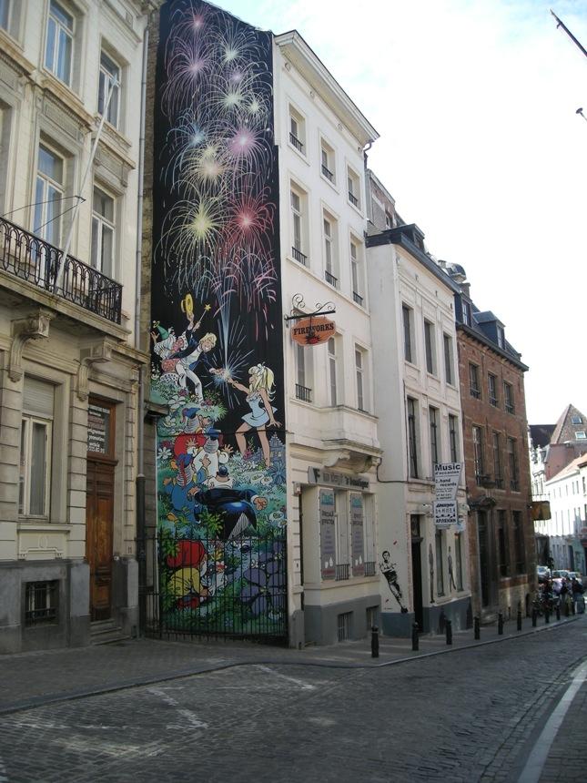 Les parcours BD de Bruxelles, Laeken et Anvers Olivie10