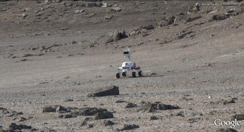 L'exploration de MARS se prépare au Canada Rover110