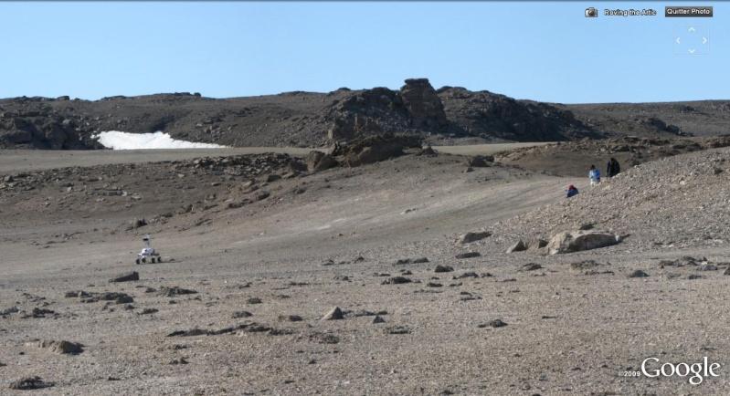 L'exploration de MARS se prépare au Canada Rover310