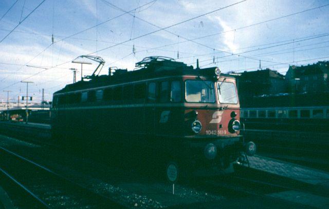 Die Baureihe 1042 der ÖBB 1042_510