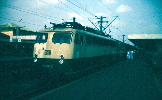 Die E-Lok Baureihe 110 / E10 der DB 112_2610