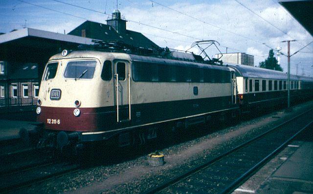 Die E-Lok Baureihe 110 / E10 der DB 112_3110